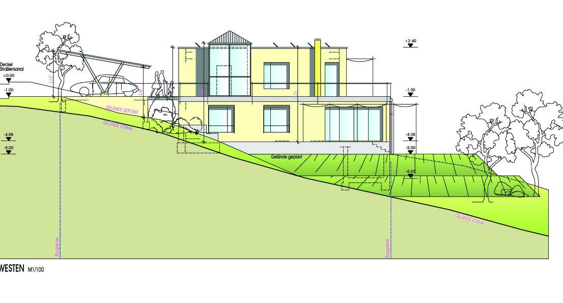 Vom Entwurf zum Bauantrag